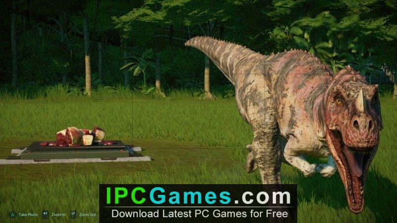 download jurassic world evolution for free