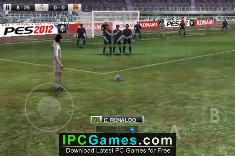 pes 2012 free download for pc full version