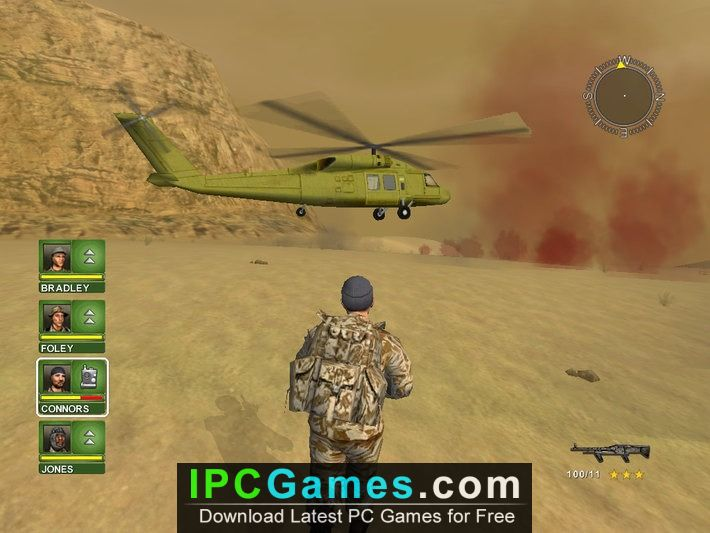 free download conflict desert storm game full version for pc